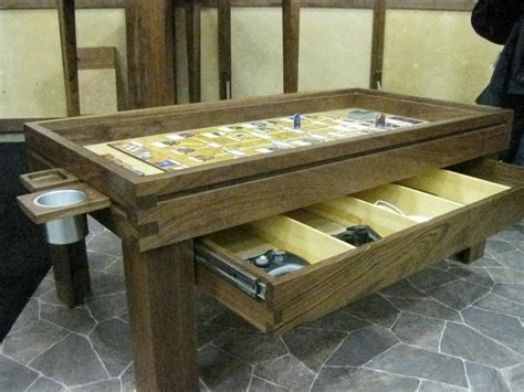 the ultimate board game table makes playing d d serious