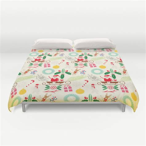 christmas pattern duvet cover christmas duvet cover pattern bedding christmas bedding