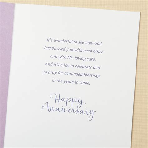Wedding Anniversary Prayer by Anniversary An Anniversary Prayer 6 Premium Cards
