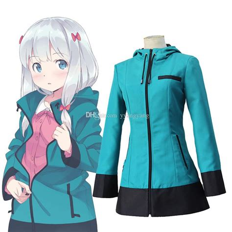 Anime Jackets by Anime Eromanga Sensei Izumi Sagiri Hooded Coat