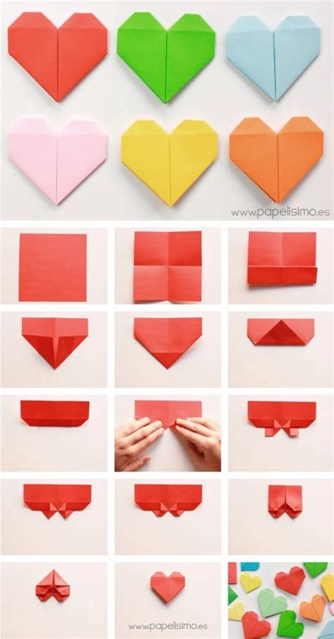 Simple Origami Shapes - 45 diy easy origami for with tutorials
