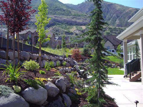backyard trolines backyard trolines landscape rock in salt lake city 28