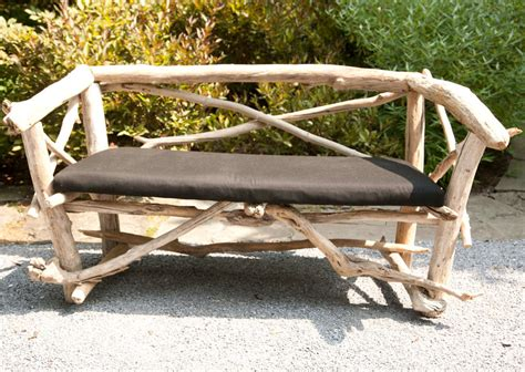 driftwood bench french artisan crafted driftwood bench at 1stdibs