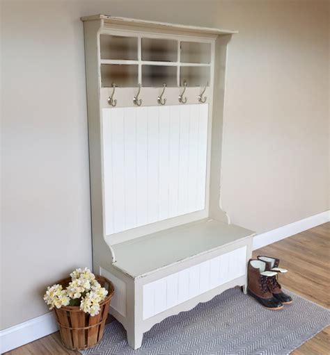 hall tree storage bench hall tree storage bench foyer furniture white by