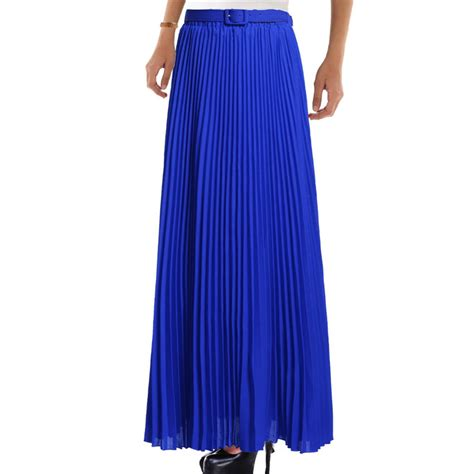 summer 2016 chiffon skirts womens high