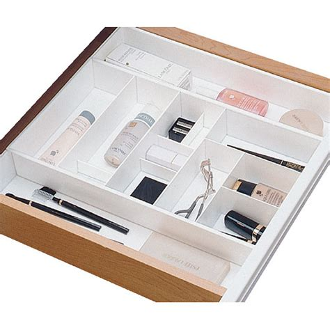 cosmetic or makeup bathroom drawer organizer