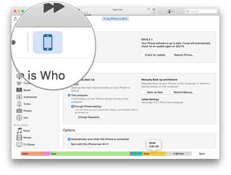 how to find and remove other files from iphone and imore