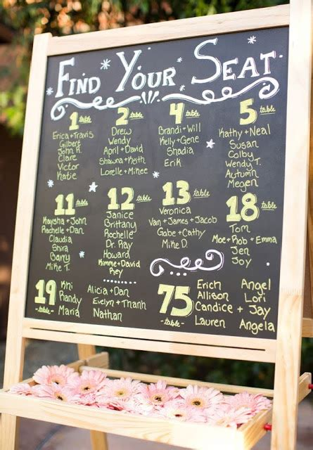 the 8 most unique seating chart ideas the mycraftaffair 11 seating chart ideas personalised