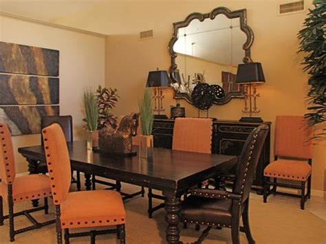 Orange Dining Room Orange And Brown Dining Room Www Imgkid The Image Kid Has It