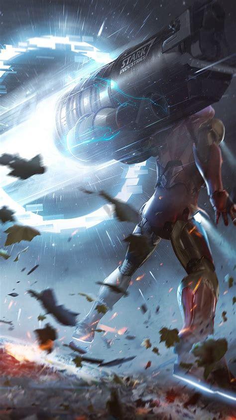 avengers endgame proton cannon iphone wallpaper iphone