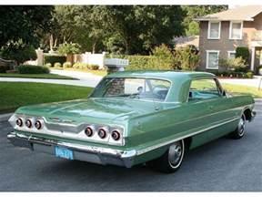 1963 Chevrolet Impala 1963 Chevrolet Impala And Impala Ss Intreior Specs Review