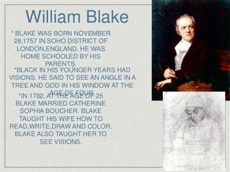 biography of william blake william blake by mj