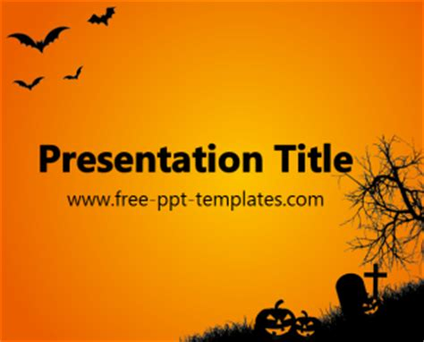 halloween ppt template free powerpoint templates