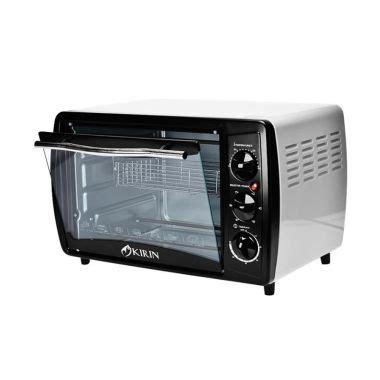 Oven Listrik Kirin 20 Liter jual kirin kbo 190 oven listrik 19 liter harga kualitas terjamin blibli
