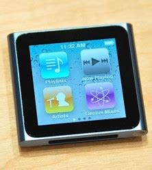 Ipod Nano Multi Touch ipod nano with multi touch display techtonic