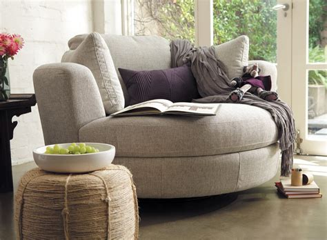 Plush Snuggle Swivel Chair » Home Design 2017