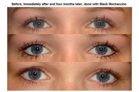 tattoo eyeliner cincinnati new lightly done eyeliner before immediately after and