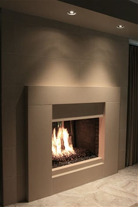 Modern Fireplace Mantels   Cast Stone