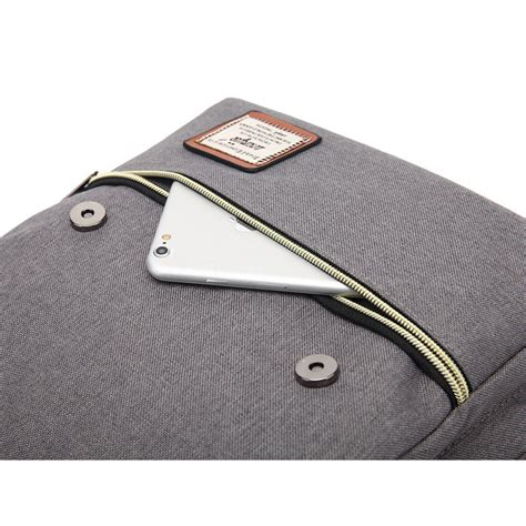 Tas Hoozler Muscular Bag Canvas Grey wenjie tas ransel canvas retro light gray jakartanotebook