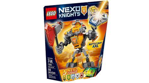 Lego 70365 Nexo Knights Battle Suit Axl lego nexo knights 2017 bilder der neuen battle suit sets