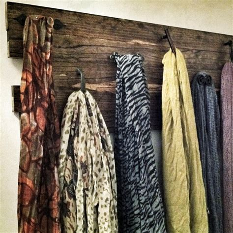 diy scarf rack cheap and easy home sweet home