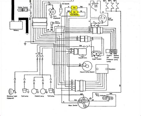 kubota wiring diagram ignition switch color kubota wiring