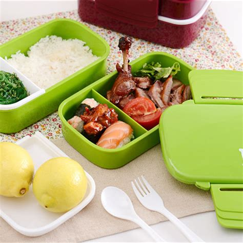 Bento Microwave lunchbox korean marmita box microwave sealed child bento japanese lunch box set for
