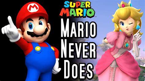 5 Of The Biggest Super Mario Controversies Youtube - super mario top 5 things mario never does youtube