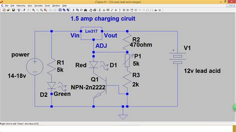 lm317 lead acid battery charger circuit diyelectronicprojects simple automatic lead acid charger