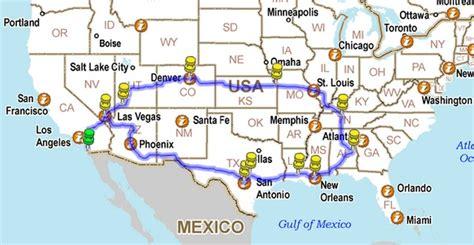 map las vegas denver all american road trip 1st planning meeting