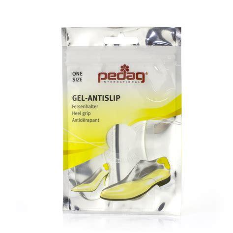 pedag gel anti slip heel grips shoeinsoles co uk