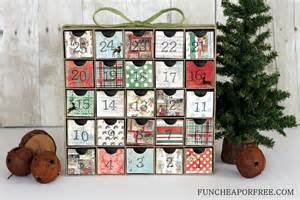 Inexpensive Advent Calendar Ideas Diy Advent Calendar All You Need Is Scrapbook Paper