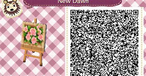 flower pattern qr code flower bed acnl qr code acnl qr codes pinterest qr codes