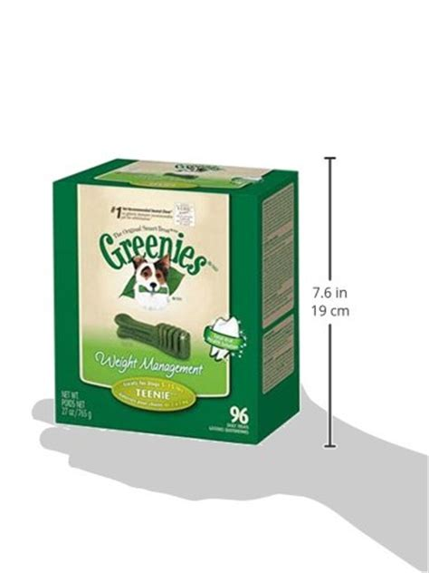 weight management treats greenies 174 weight management treat for dogs