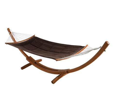 hamacas de madera hamaca de madera de eucalipto bali ref 14561771 leroy