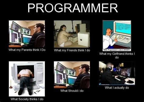 Meme Programmer - what my friends think i do what i really do meme