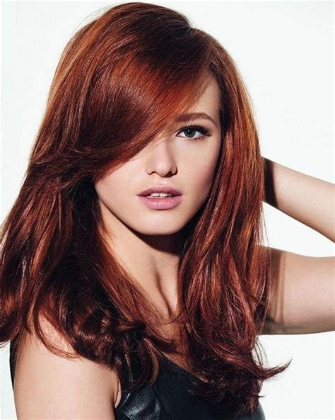 red book 20 best haircuts 20 best ideas of red long hairstyles