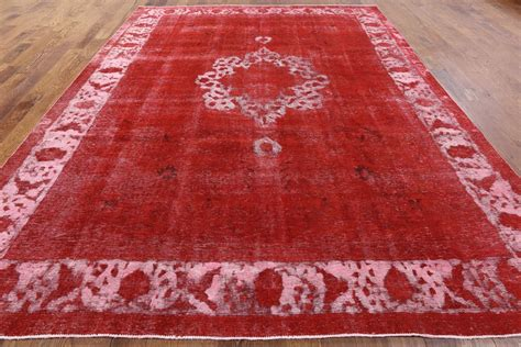 12 x12 rug tabriz overdyed knotted 9 x 12 area rug