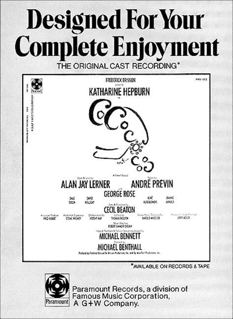 upcoming cast recordings playbill playbill archives company 1970 playbill