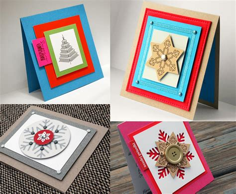 beautiful diy handmade christmas card ideas   designbolts
