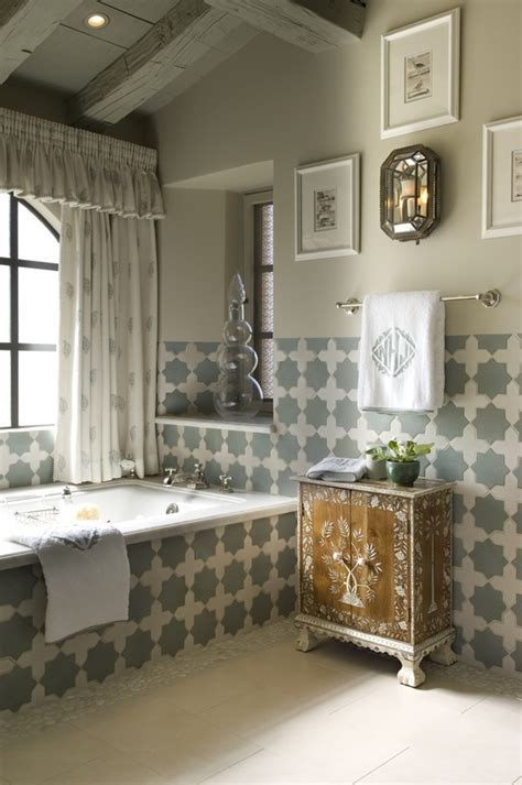 Moroccan Inspired Curtains Eastern Luxury 48 Inspiring Moroccan Bathroom Design