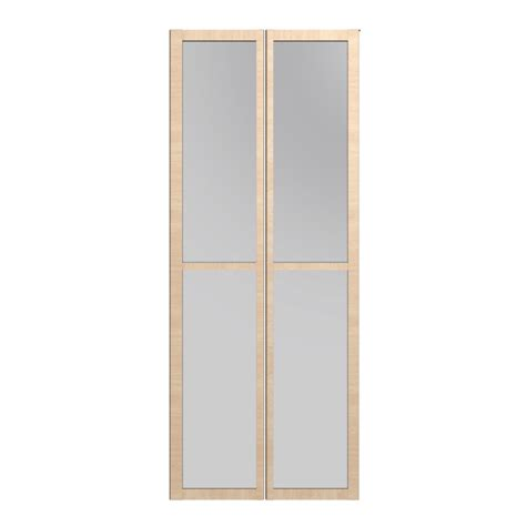Billy Glass Door Billy Olsbo Glass Door Birch Veneer 2x Design And Decorate Your Room In 3d