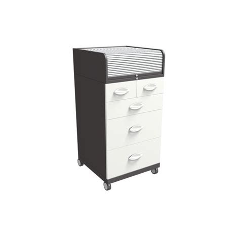 C Saylor Calvin Roll Top Storage Cabinet