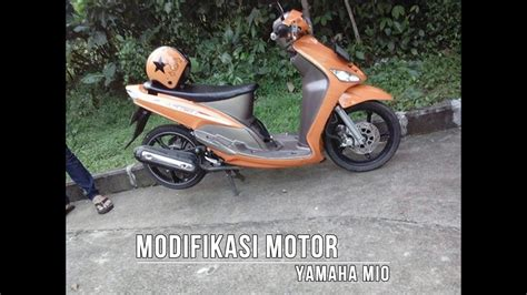 koleksi modifikasi motor mio sporty 2009 terbaru