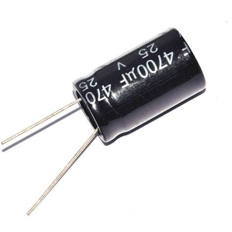 capacitor uf que significa capacitor electrol 237 tico radial de 4700uf a 25v