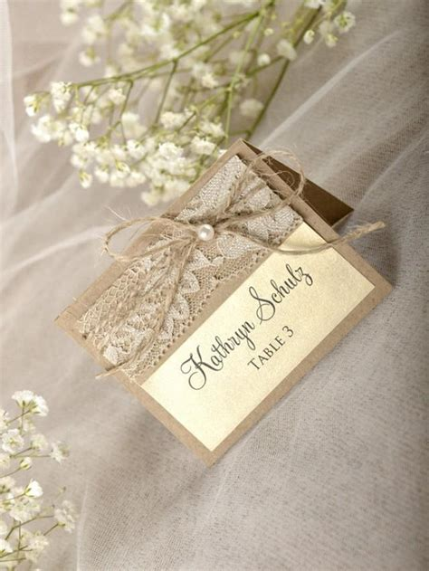 rustic wedding place card template rustic place cards 20 lace place cards wedding