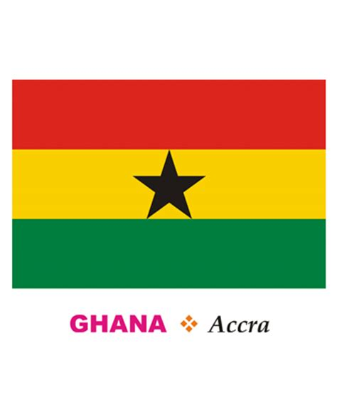 free coloring pages of flag of ghana ghana flag coloring pages for kids to color and print