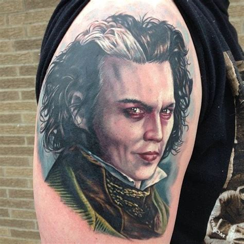 sweeney todd tattoo 17 best images about portrait tattoos on