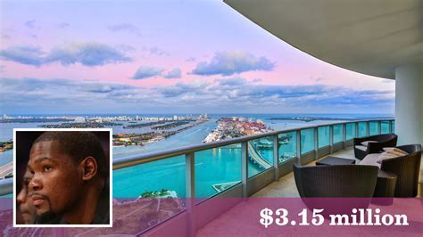 Kevin Durant sells Miami penthouse for nearly double what