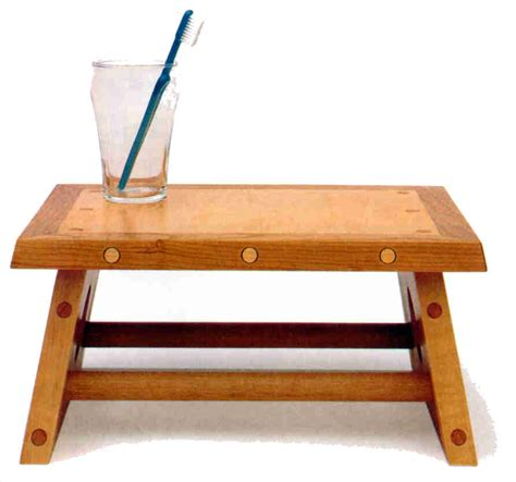step stool woodworking plans trahas